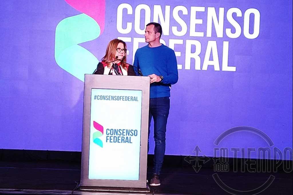 """Consenso Federal: """"Estamos competitivos para octubre"""""""