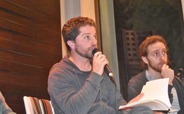 """Diego Singer presenta en Rojas su libro """"Políticas del discurso"""""""