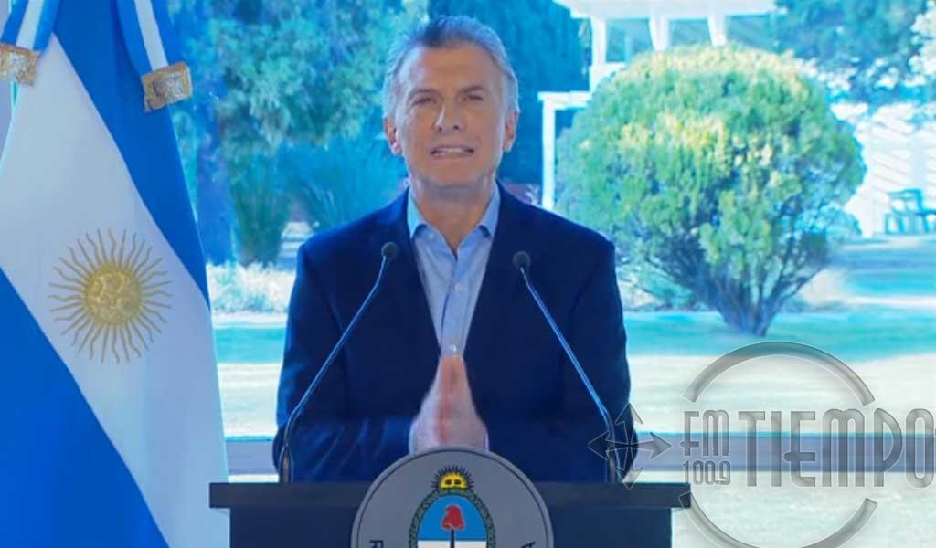 """Macri anunció un paquete de """"medidas de alivio"""" para 17 millones de personas"""