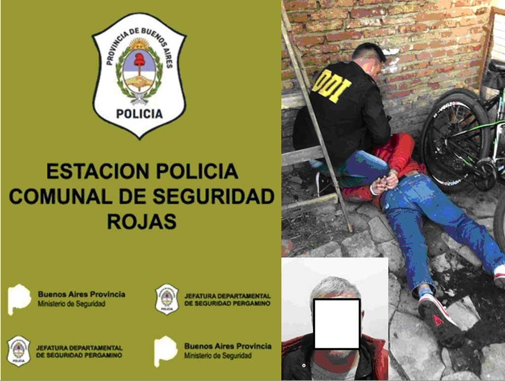 Robo, identificación de autores, persecución y aprehensión en Junín