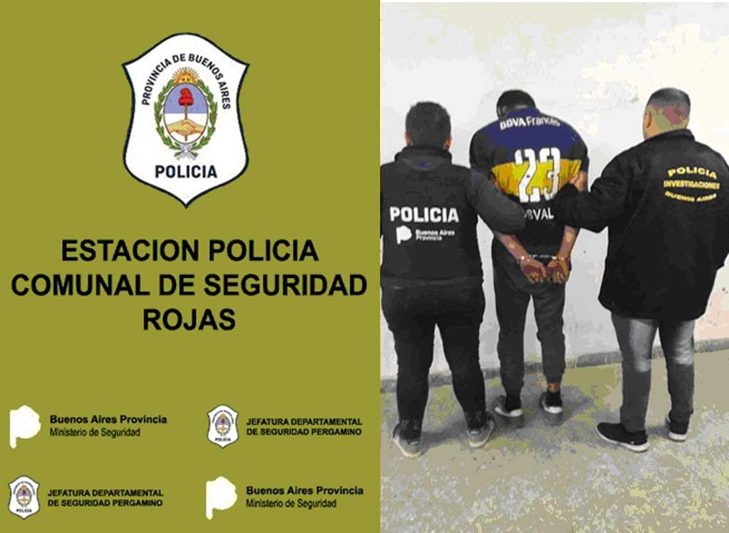 Allanamientos, secuestro y detención
