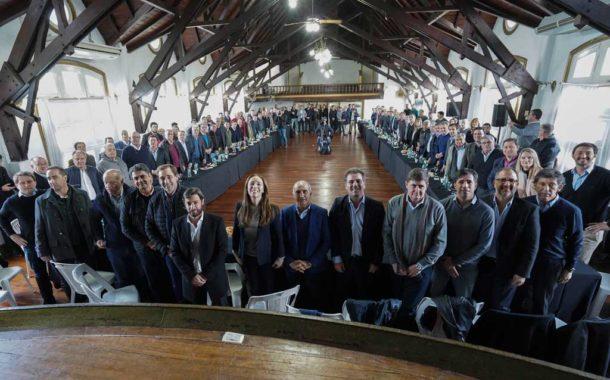 Vidal se reunió con los intendentes bonaerenses de Juntos por el Cambio