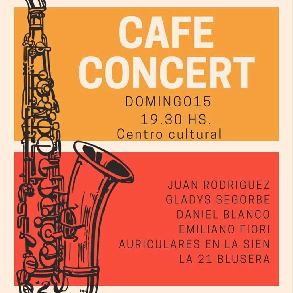 Cafe Concert de la Agrupación Coral de Rojas