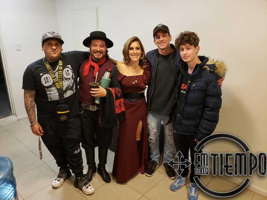 Nicolas Membriani participó del show de Soledad en Rosario