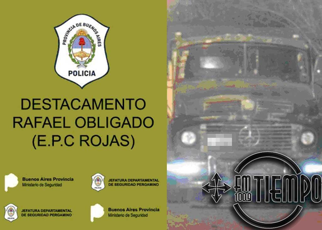 Secuestro de camión por infracción ley 24449