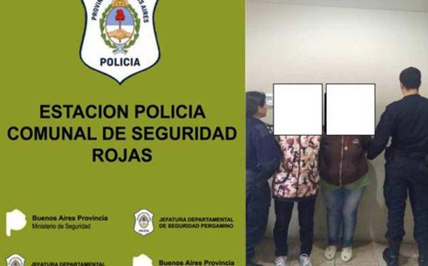 Aprehensión de dos mujeres por pedido activo de captura