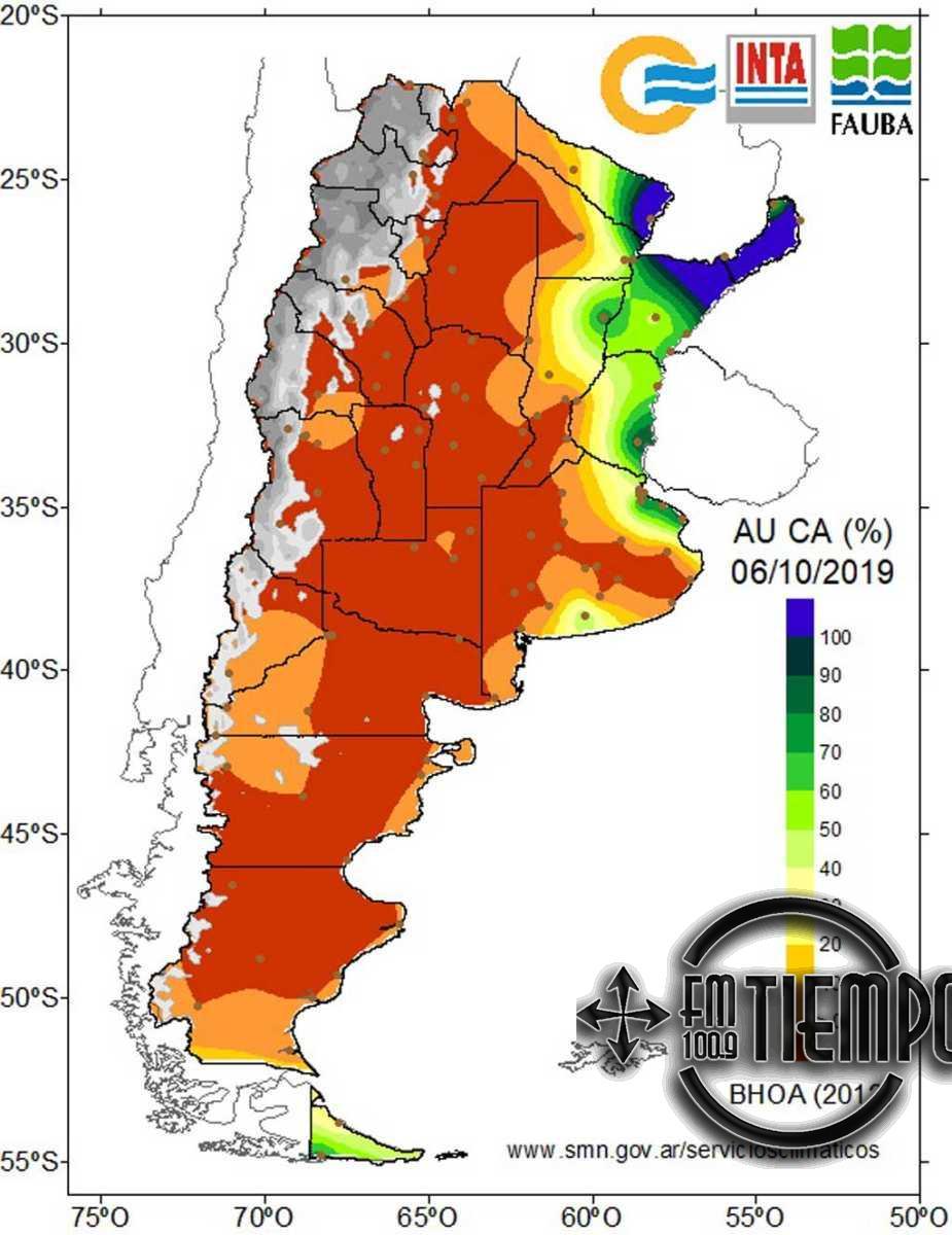 La sequía afecta al trigo y otros cultivos de invierno