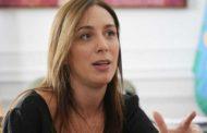 María Eugenia Vidal, en el ciclo Diálogos de la UNNOBA
