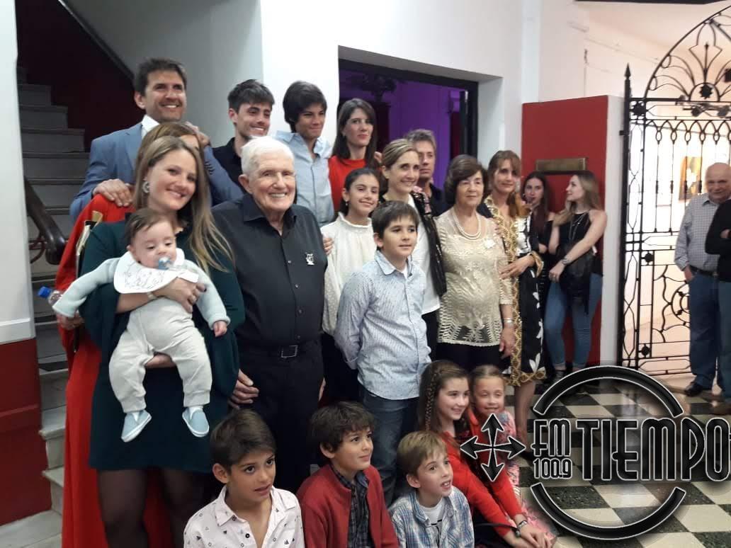 Se impuso el nombre de Alberto Perassolo a la sala principal del Centro Cultural