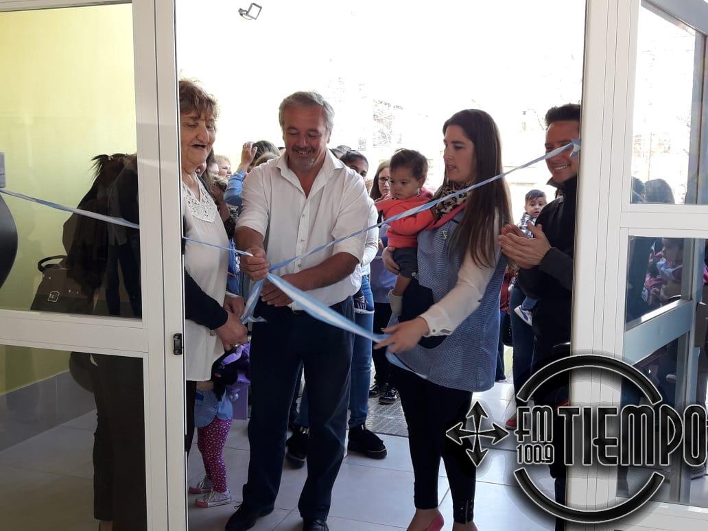 Inauguraron el Jardín Maternal N°2 en el Barrio Las Medias Lunas