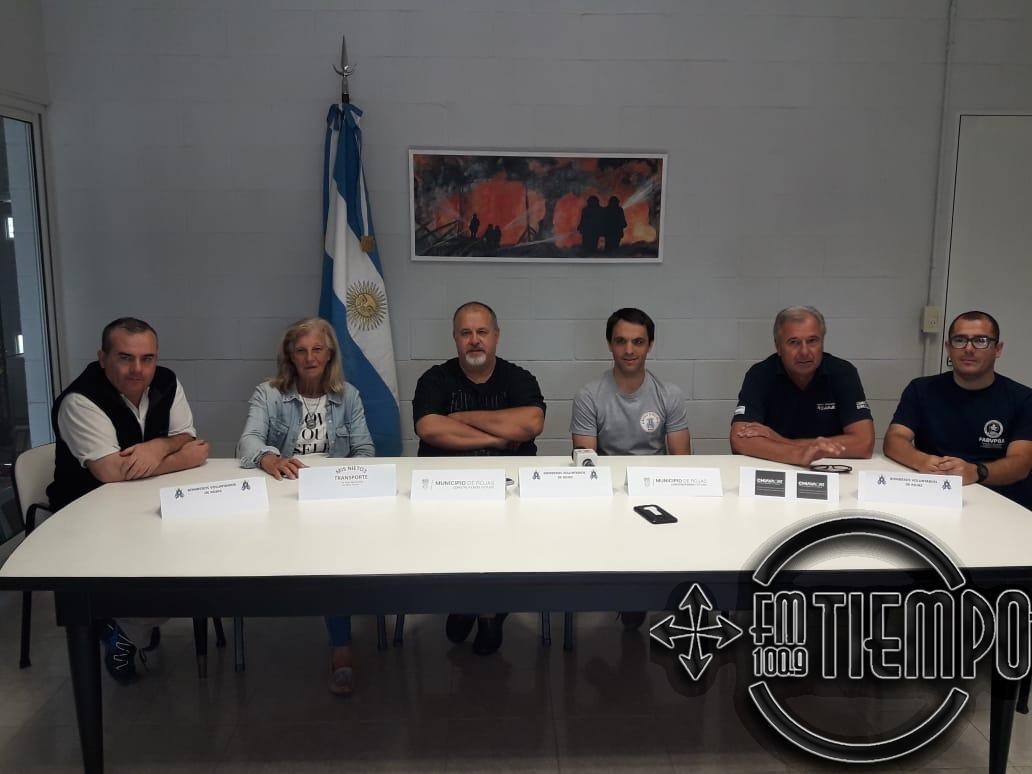 Bomberos Voluntarios de Rojas realizaran capacitación en Chile