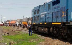 Junín: Camioneros cortaron el paso de los trenes de carga