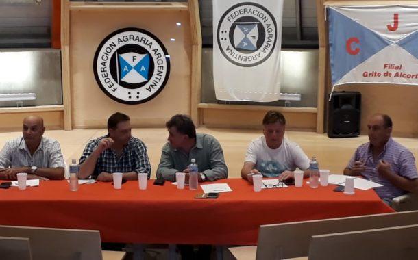 F.A.A.: Marveggio participó de la reunión del CDR del Distrito 7 en Alcorta