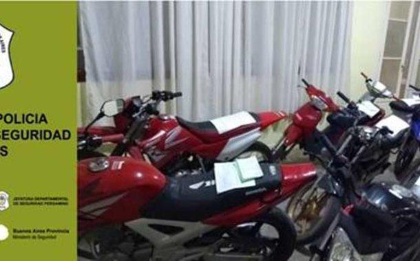 Secuestro de ocho motocicletas por infracciones a ley 13.927