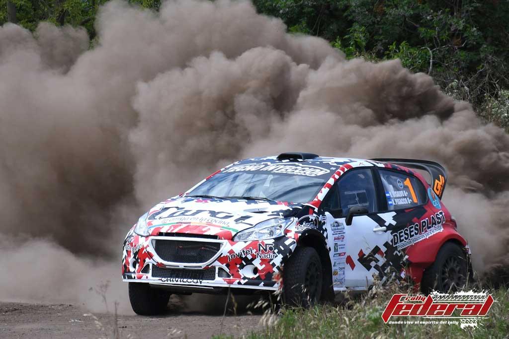 Rally Federal: gana Disalvo en un carrera con muchos condimentos
