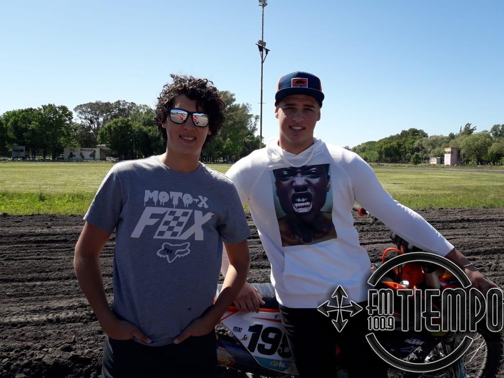 Motocross: los hermanos Poli brindaron una capacitación en Rojas