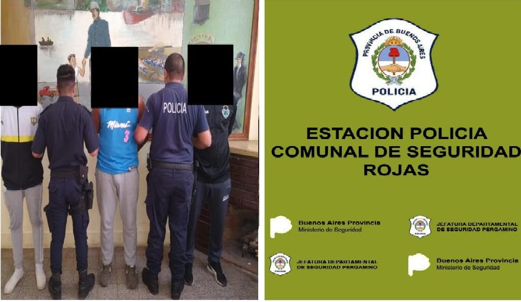 5 detenidos en Rojas por violar la cuarentena