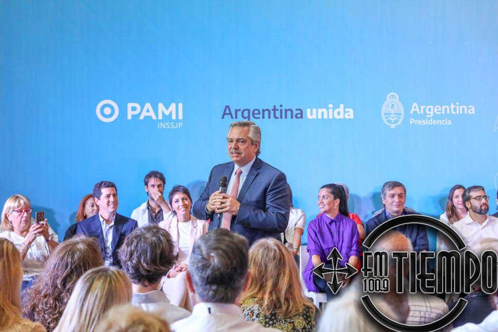 El presidente Alberto Fernández presentó el listado de medicamentos gratuitos para jubilados