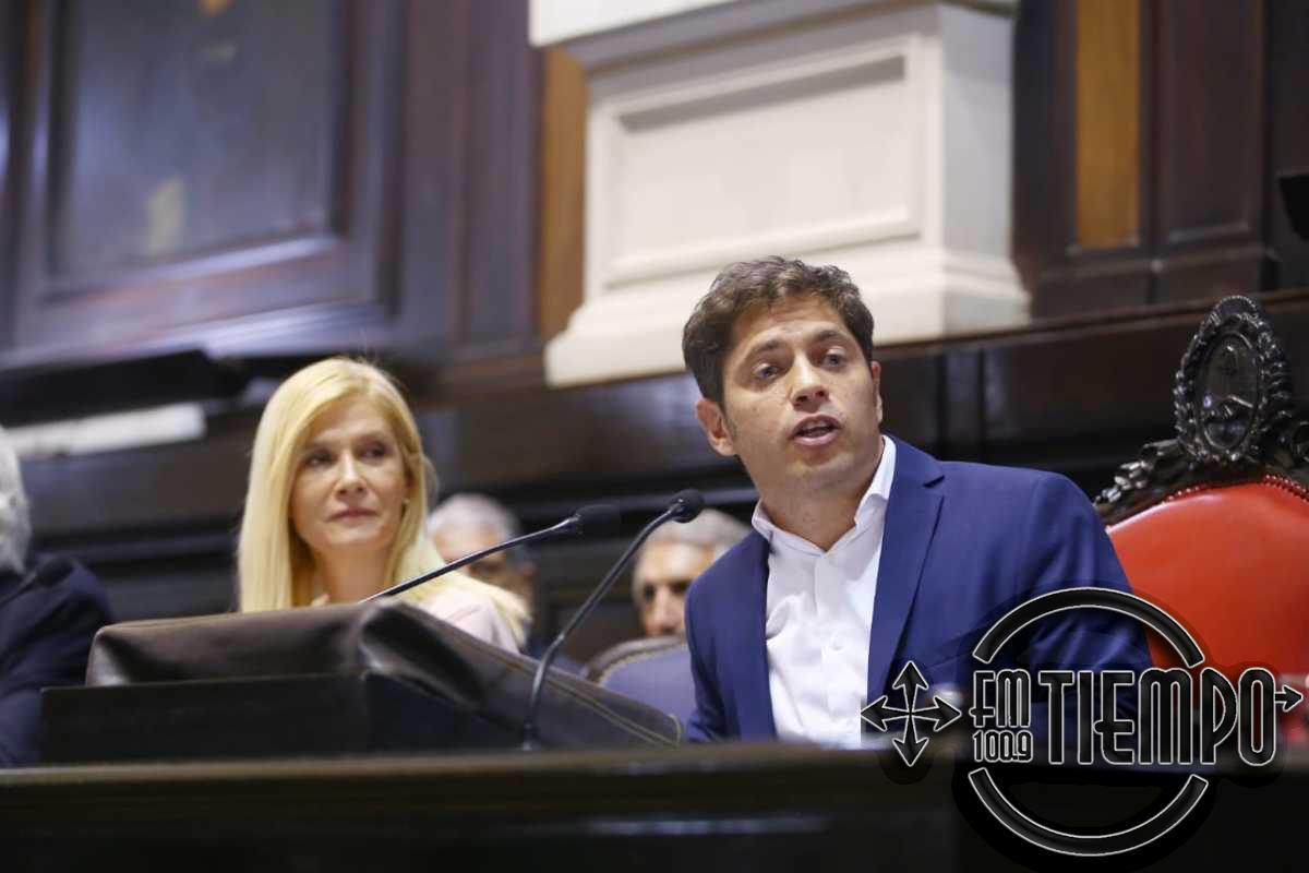 Kicillof en el inicio de las sesiones legislativas: