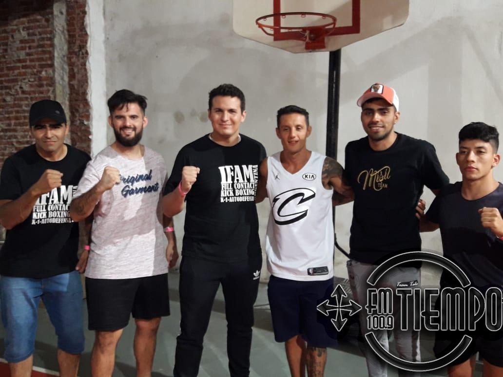 Exitosa noche de king boxing y boxeo en Sportivo