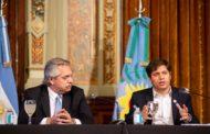 Fernández y Kicillof presentaron