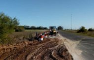 Inició la obra de reconstrucción de alcantarillas en las Rutas Provinciales 31 y 32