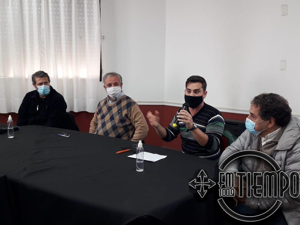 Autoridades municipales y sanitarias dieron detalles sobre el primer caso de Covid 19