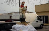 En un contexto muy especial se conmemoró San Cayetano