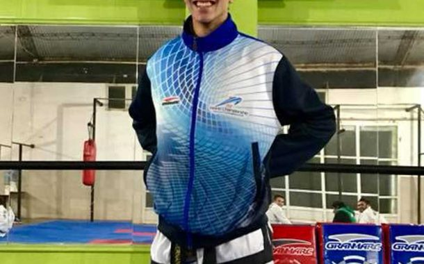 Taekwon do: Nicolas Fernandez se consagró subcampeón en un certamen virtual
