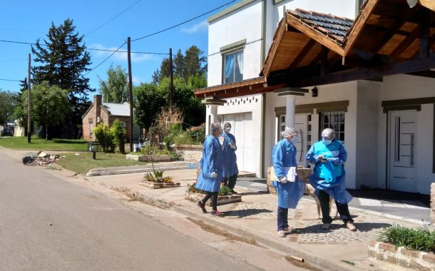 Agentes Sanitarias realizaron operativo Detectar