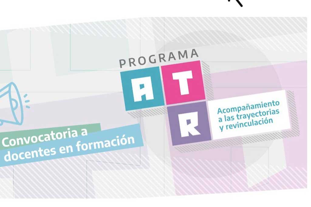 """Lanzamiento del programa provincial """"acompañamiento a las trayectorias y revinculacion"""" en el distrito de Rojas"""
