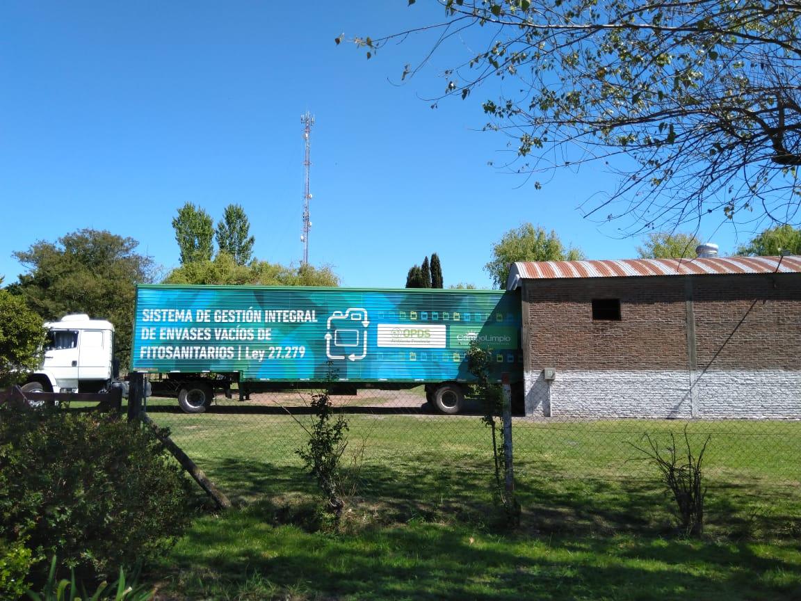 El Centro de Acopio Transitorio completó su primera carga
