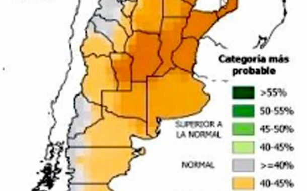 La Niña se consolida en 2020 con más escasez de lluvias