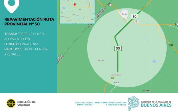 La Provincia licitó importantes obras de infraestructura vial