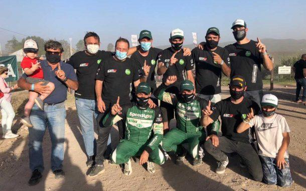 Histórico: Nicolas Diaz es campeón argentino de Rally