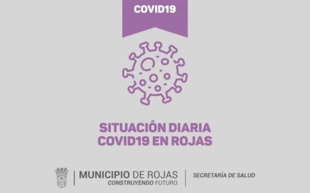 Covid: 131 positivos activos