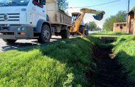 Trabajos de limpieza y mantenimiento en canales