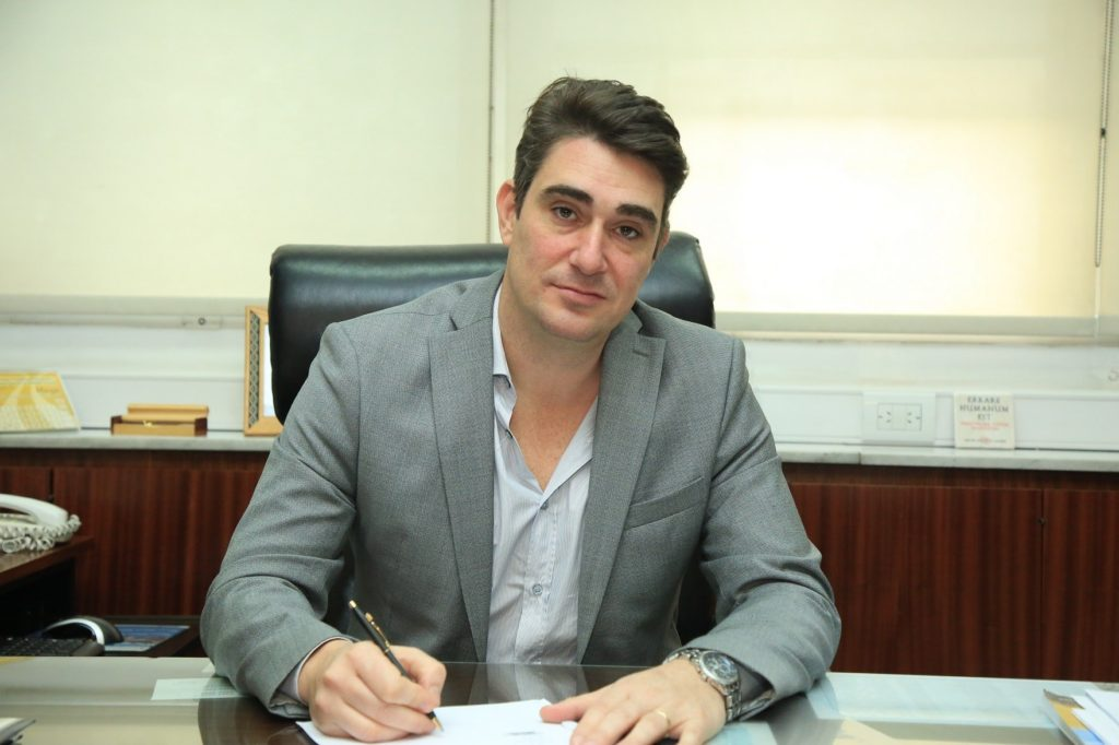 El intendente Iguacel se contagió covid-19 por segunda vez