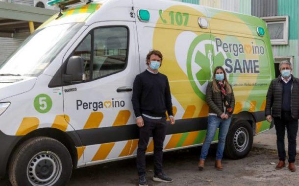 Pergamino incorporó una nueva ambulancia para el SAME