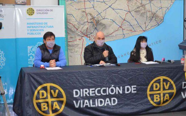 La Provincia licitó cuatro nuevas obras para mejorar la circulación en rutas y Caminos Rurales