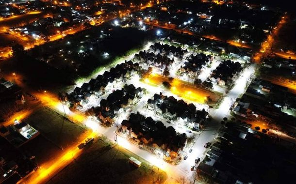 Nueva iluminación para barrio Coovendiar