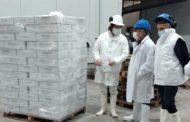 Martínez visitó la Avícola de Guerrico que hizo su primera exportación a Asia