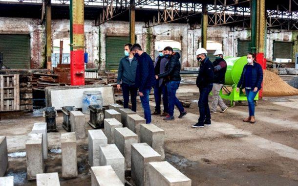 Petrecca visitó el Polo Cooperativo y destacó su «gran visión de futuro»