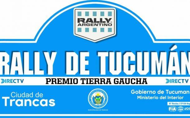 Así será el recorrido del Rally de Trancas