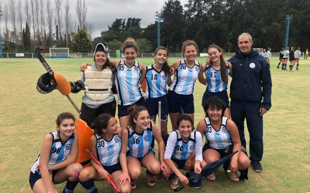 Juegos Bonaerenses: el Hockey sub 14 ganó la etapa regional